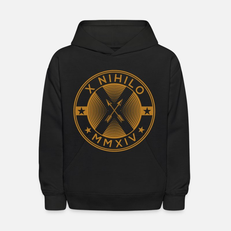 TeamXNihilo Clothing OklahomaCity Fashion Urbanwear Skaterwear Hoodies & Sweatshirts - X Marks The Spot Boys - Kids' Hoodie black