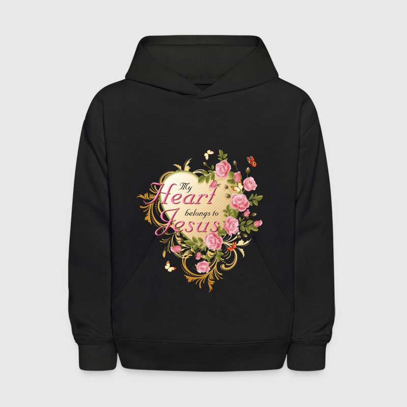 Christian Gift My Heart Belongs To Jesus - Kids' Hoodie
