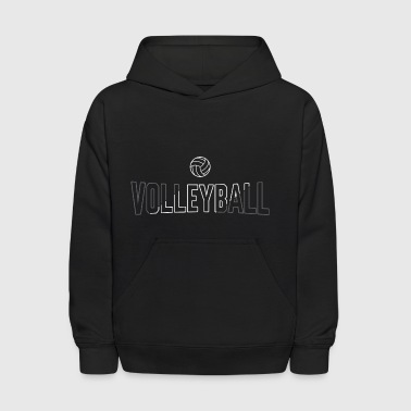 Volleyball Ball Slash - Kids' Hoodie