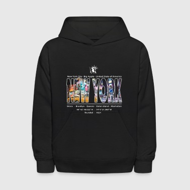 NEW York City Big Apple - Kids' Hoodie