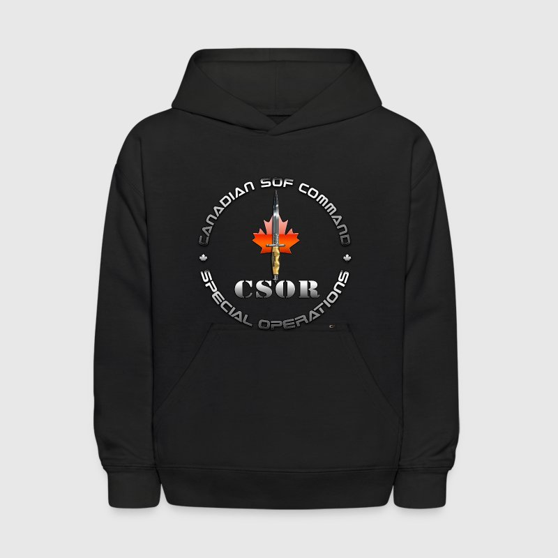 Canadian Special Operations Regiment (CSOR)  - Kids' Hoodie