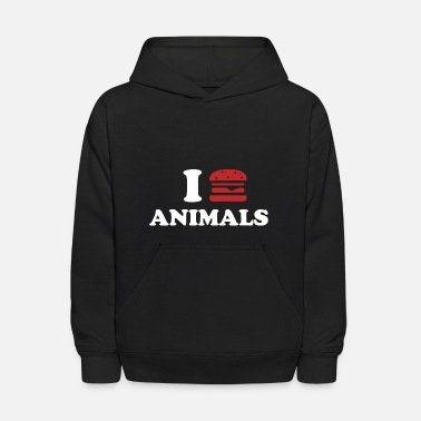 I Love Animal I LOVE ANIMALS - Kids' Hoodie