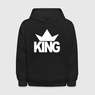 KING CROWN - Kids' Hoodie