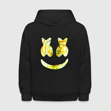 Marshmello Negative Color - Kids' Hoodie