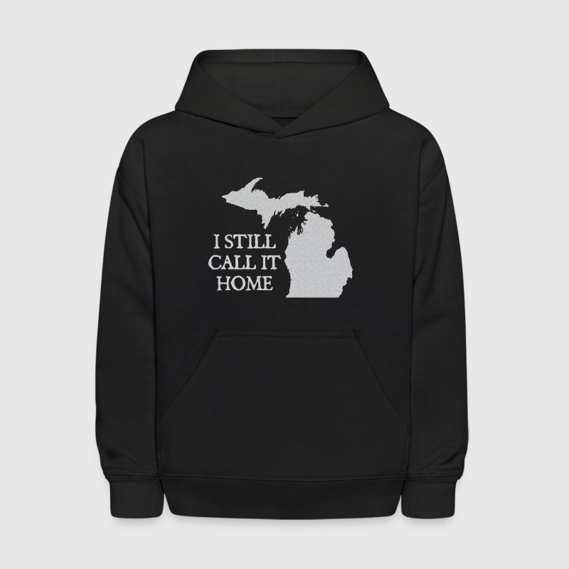 I Call Michigan Home Love Apparel Shirts - Kids' Hoodie