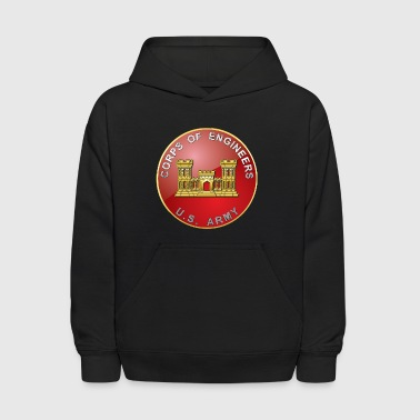 USACE Branch Plaque - Kids' Hoodie