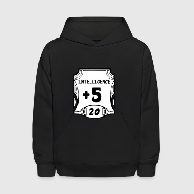 All of the Intelligence - Kids' Hoodie