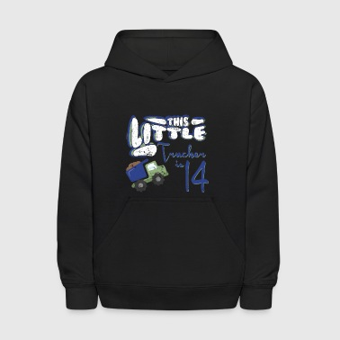 Little Girls Trucker Little Boys Trucker 14 Little Kids - Kids' Hoodie