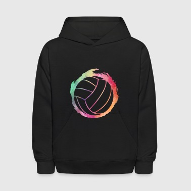 Volleyball Colors - Volleyball- Total Basics - Kids' Hoodie