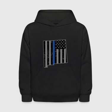 Law Enforcement New Mexico Police & Law Enforcement Thin Blue Line - Kids' Hoodie