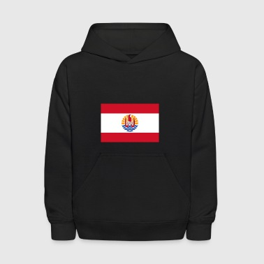 National Flag Of French Polynesia - Kids' Hoodie