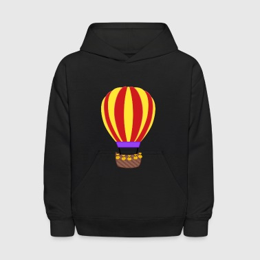 Hot Air Balloon airplane aeroplane flugzeug heissluftballon air ba - Kids' Hoodie