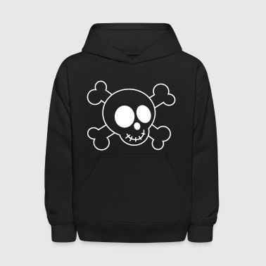 Cute Skull and Crossbones - Kids' Hoodie