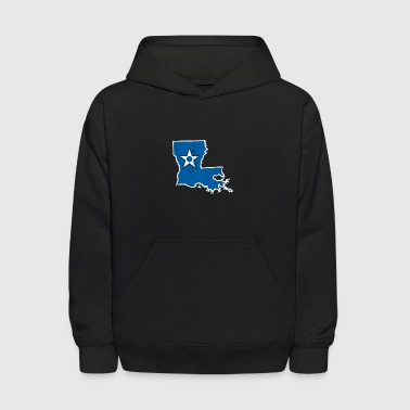 Louisiana Air Force Proud Air Force Wife - Kids' Hoodie
