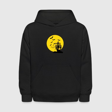 Haunted Castle - Kids' Hoodie