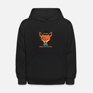 Hipster Hipster Fox - Kids' Hoodie