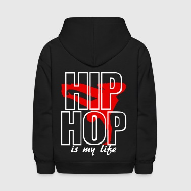hip jop is my life - Kids' Hoodie