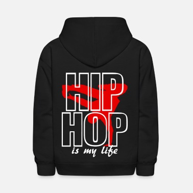Hip Hop hip jop is my life - Kids' Hoodie