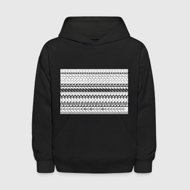 Tapu by SKU (samoan_tribal_band) - Kids' Hoodie