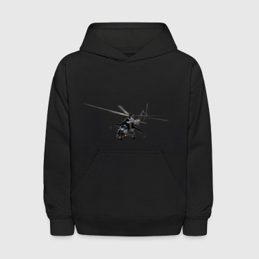 helicopter - Kids' Hoodie