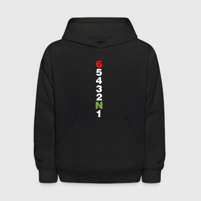 Drop a gear and disappear shift motorcycle gears - Kids' Hoodie