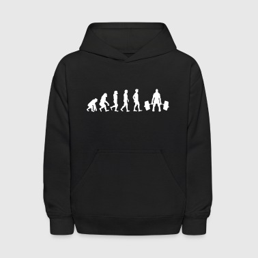 Evolution Weight Lifting - Kids' Hoodie