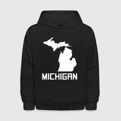Michigan State Silhouette - Kids' Hoodie