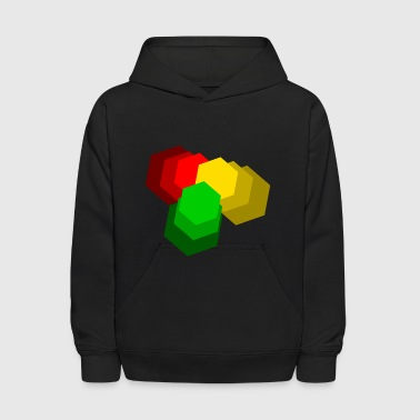 Red Gold Green - Kids' Hoodie