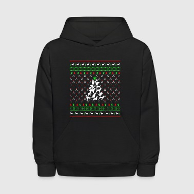 Vet Tech Christmas Tree Shirt - Kids' Hoodie