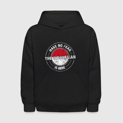 Have No Fear The Indonesian Is Here - Kids' Hoodie