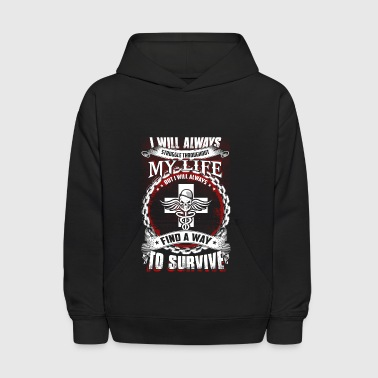 I Will Always Struggle Combat Medic - Kids' Hoodie