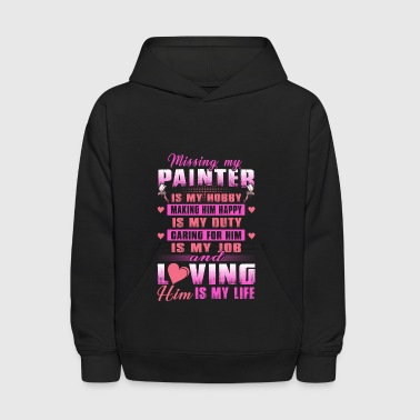 Painter Missing My Painter Is My Hobby - Kids' Hoodie