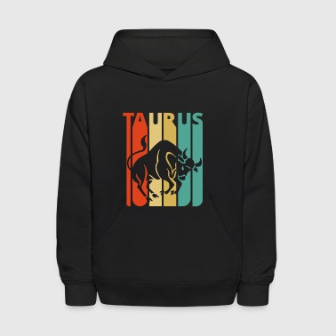 Vintage Zodiac Taurus Gifts for Birthday,Christmas - Kids' Hoodie