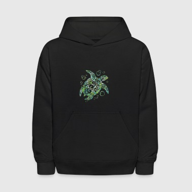 Beautiful Sea Turtle Gift - Kids' Hoodie