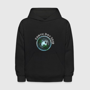 Austrount Earth Day - Kids' Hoodie