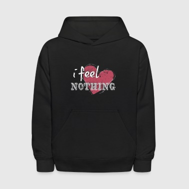 Anti Valentines Day I Feel Nothing Barbed Heart - Kids' Hoodie