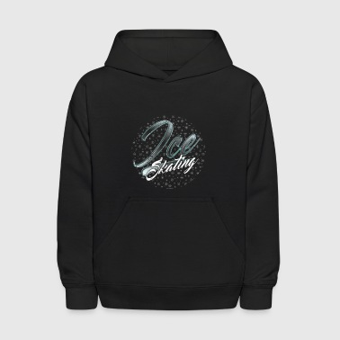Ice Skating Shirt Ice Skating Clothes Ice Skating Party Tee - Kids' Hoodie