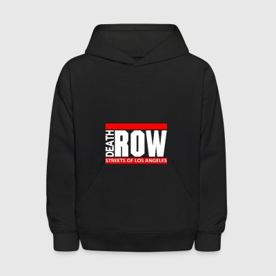 Death Row Streets Of Los Angeles - Kids' Hoodie