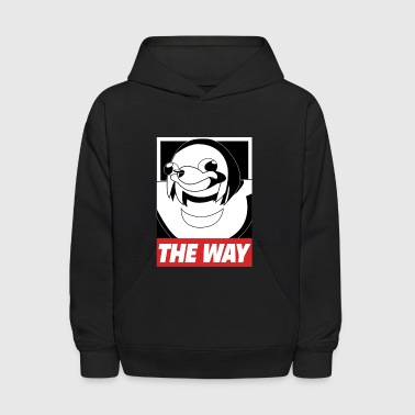 OBEY THE WAY Ugandan knuckles - Kids' Hoodie