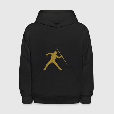Golden Javelin Throw - Kids' Hoodie