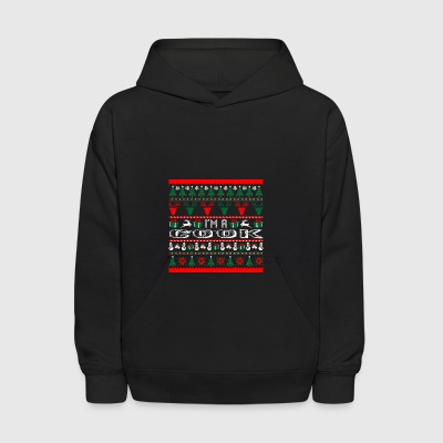 I Am Cook Christmas Ugly Sweater - Kids' Hoodie