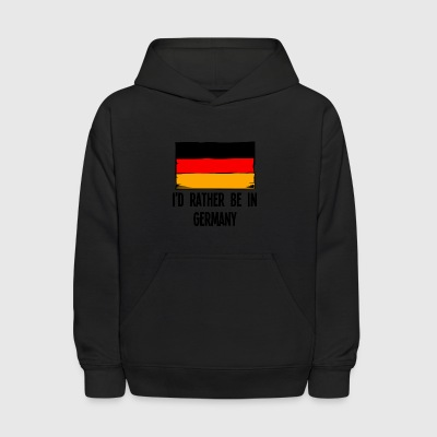 I'd Rather Be In Germany - Kids' Hoodie