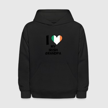 I Heart My Irish Grandpa - Kids' Hoodie