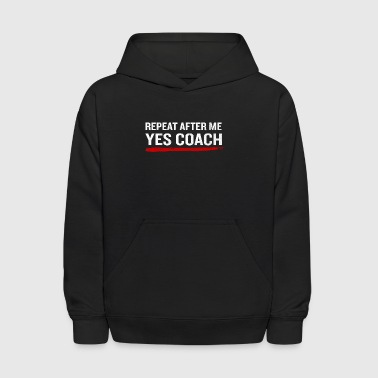 Softball Coach Funny Quote Sarcastic Fathers Gift - Kids' Hoodie