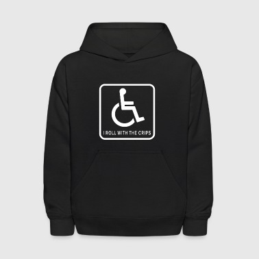 I Roll With the Crips - Kids' Hoodie