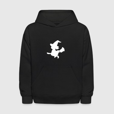 Witch, Witchery, Halloween, Witchcraft, - Kids' Hoodie