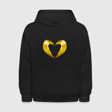 valentines-day-heart-jewelry - Kids' Hoodie