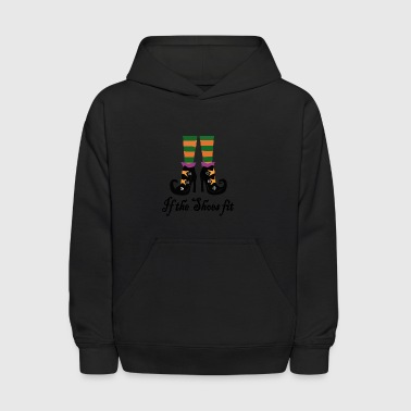 witches shoes - Kids' Hoodie