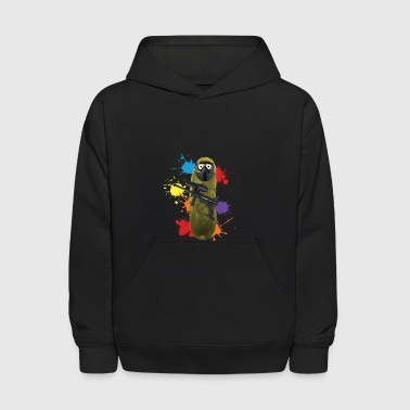 Paintball Pickle - Kids' Hoodie