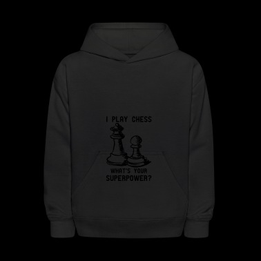 CHESS CAMPAIGN - Kids' Hoodie
